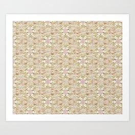 Gilded Tissue Anthemion Art Print