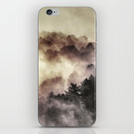 """Surprise misty forest"" iPhone Skin"