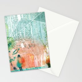 ArchiCollage - Secret Garden Stationery Cards