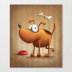 The Dog Canvas Print