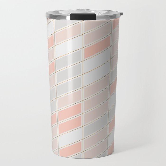 Pattern Rose 1 Travel Mug