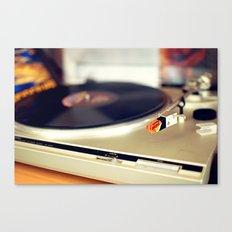 Vinyl Lover Canvas Print