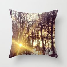 Magic still happens in this world Throw Pillow