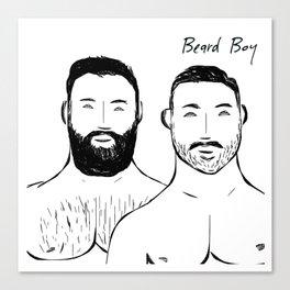 Beard Boys: Guapos Canvas Print