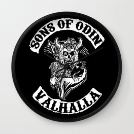 Sons of Odin Vikings Inspired Wall Clock