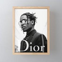 ASAP Poster Rocky Diore Print Framed Mini Art Print