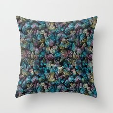 Crystal Points  Throw Pillow