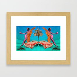 Second Guess Framed Art Print