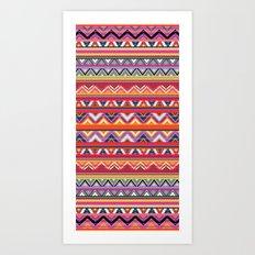 Aztec #6 Art Print