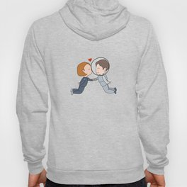 Space Nerds in Love Hoody