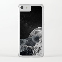 Behold the Sky Clear iPhone Case