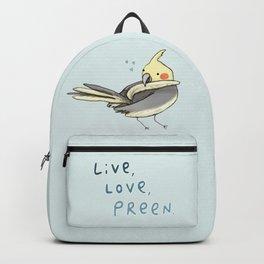 Live, Love, Preen Backpack