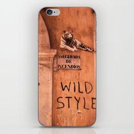 Valencia Tags, Wild Style iPhone Skin