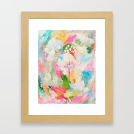 fantasia: abstract painting Framed Art Print
