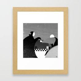 Bergman's The Seventh Seal Framed Art Print