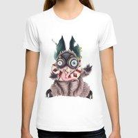 bucky T-shirts featuring Bucky by Maria Gabriela Arevalo Reggeti
