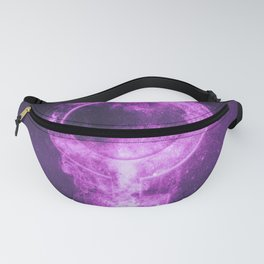 Female symbol. Abstract night sky background Fanny Pack