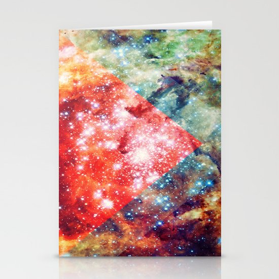 Stars on Fire Stationery Cards