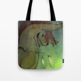 Glow Fritz Tote Bag