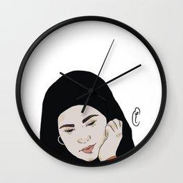 Sana in love Wall Clock