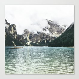 By the Sea to the Mountains Canvas Print