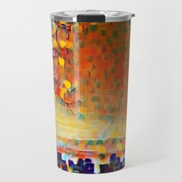 Sunrise Cityscape Travel Mug