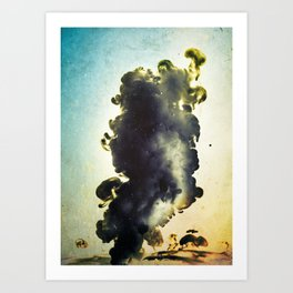 Liquid harmony II Art Print