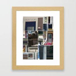 143 in 02143 Framed Art Print