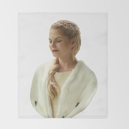 The Lost Princess Throw Blanket