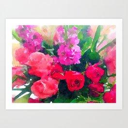 """Bloomers"" Art Print"