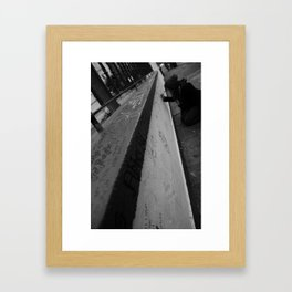Surrender to the Void Framed Art Print