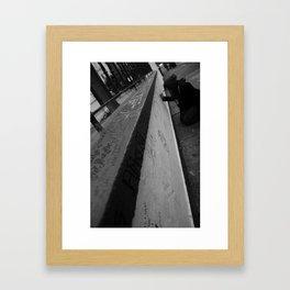 Surrender to the Void Framed Art Print