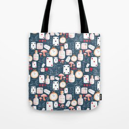 Alice in Wonderland - Indigo madness Tote Bag