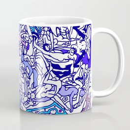 Kamasutra LOVE - Indigo Blue Coffee Mug