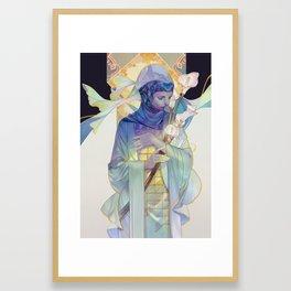 calla Framed Art Print