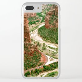 Zion Canyon Clear iPhone Case