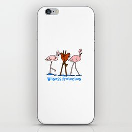 Witness Protection iPhone Skin