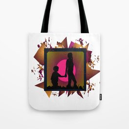 Messy family Tote Bag