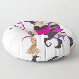 Granny Hex (Purple) Floor Pillow