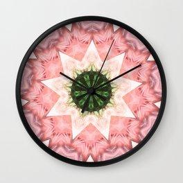 Mandala Star Wall Clock