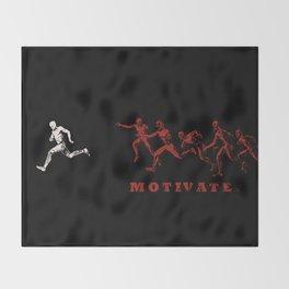 Motivate Throw Blanket