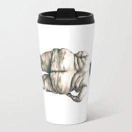 mujer en la ducha Travel Mug