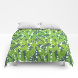 Lily of the Valley Pattern Comforters