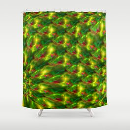 Sunny hill-and-dale Shower Curtain