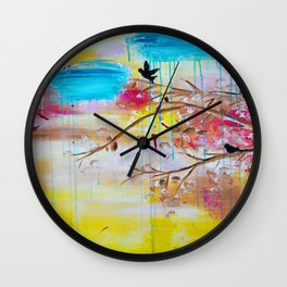 ''Summer Daze'' by Jolene Ejmont Wall Clock