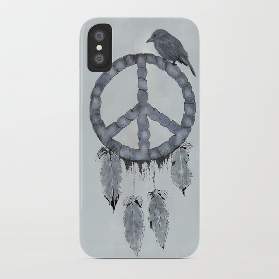 A dreamcatcher for peace iPhone Case