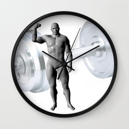 The Lifter Wall Clock