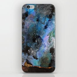 Space House iPhone Skin