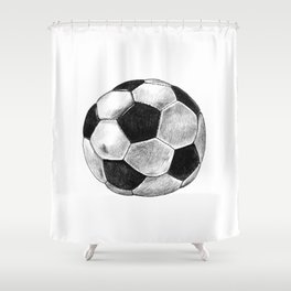 Soccer Worldcup Shower Curtain