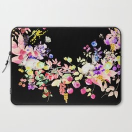 Soft Bunnies black Laptop Sleeve